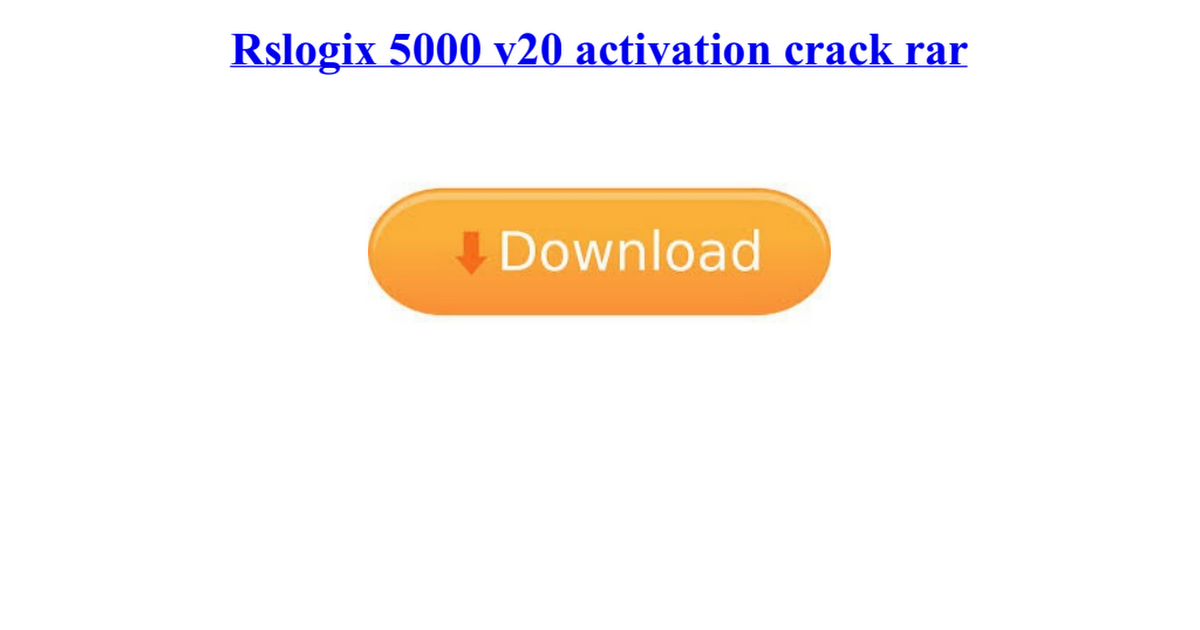 Rslogix 5000 v20 crack activation new version