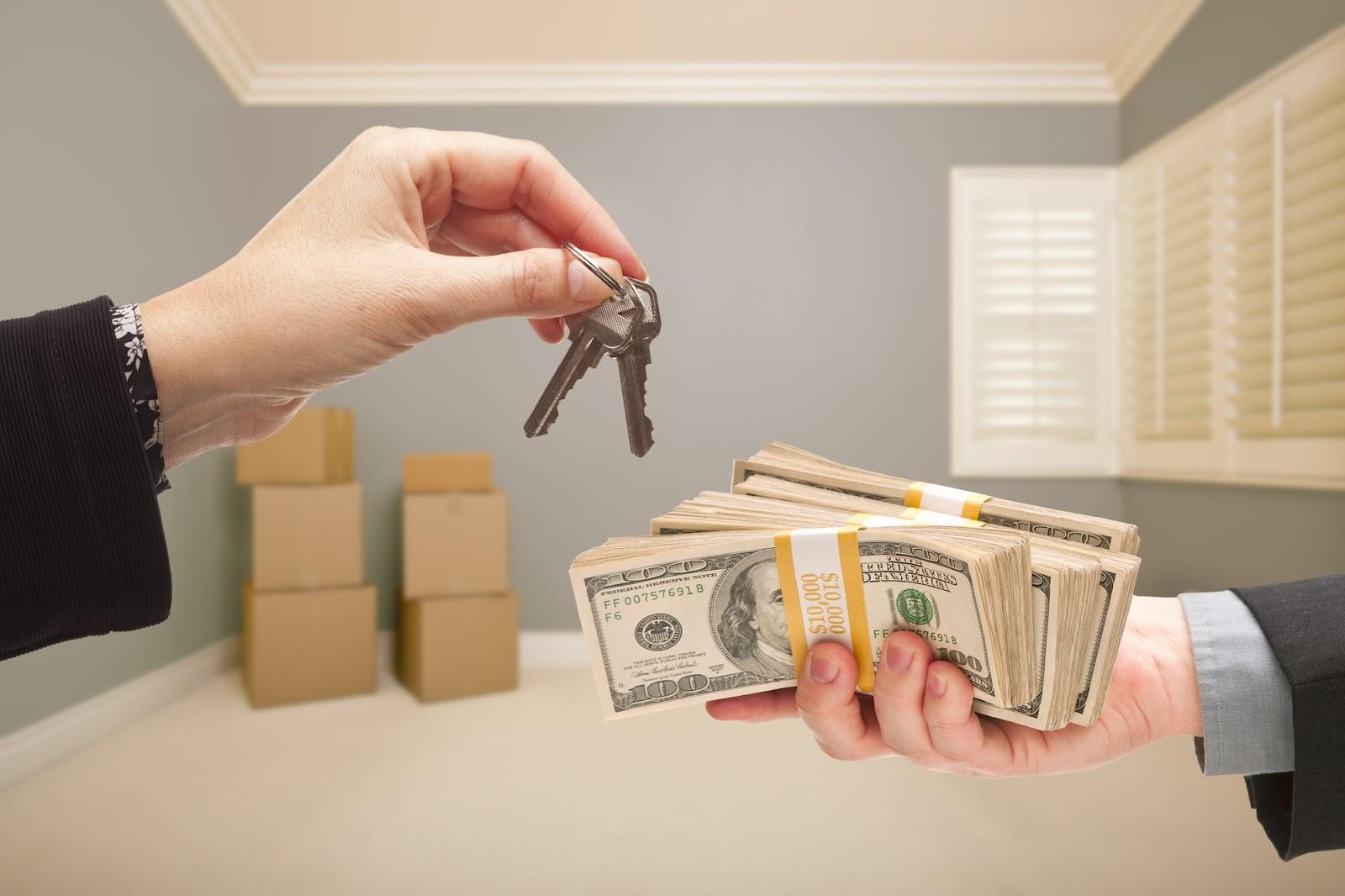 Cash house buyers Washington DC