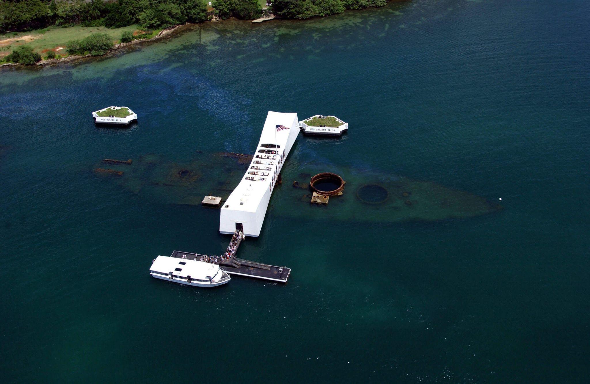 USS Arizona Memorial, Pearl Harbor Historical Site