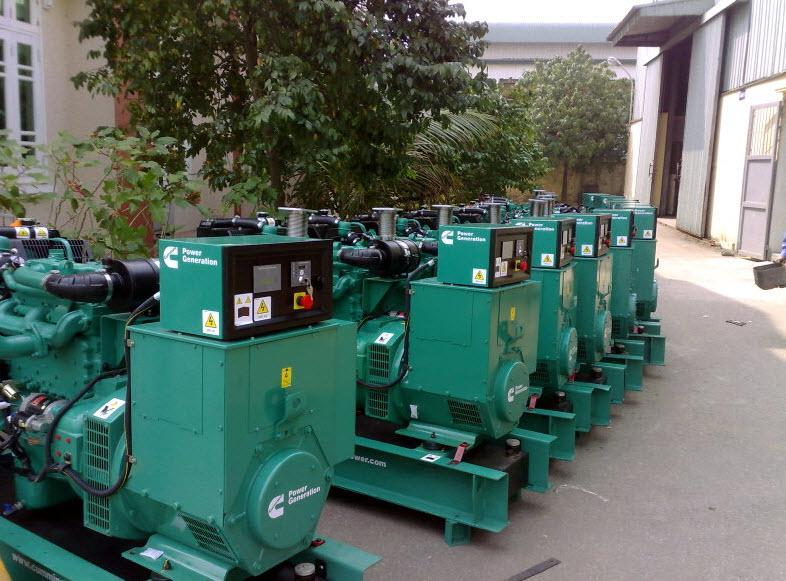 Máy phát điện công suất lớn dùng trong công nghiệp