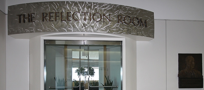 Berman Reflection Room