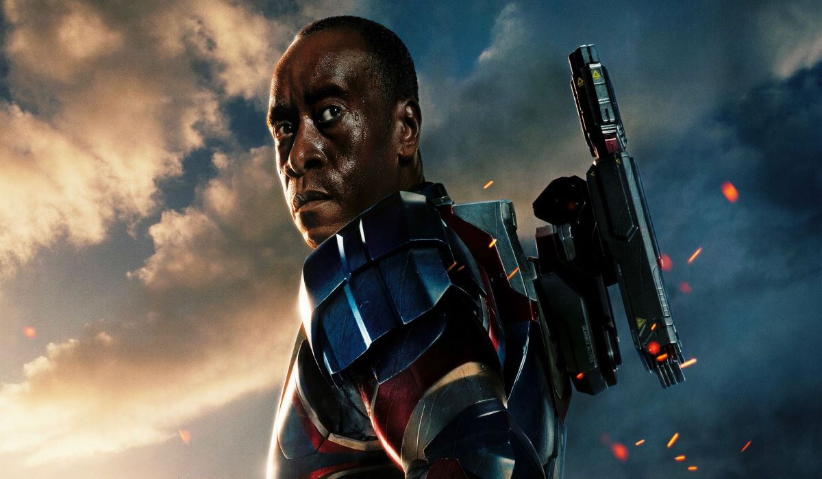 The series Armor War with the main character: War machine by Don Cheadle