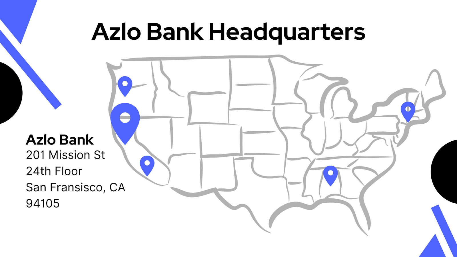 Azlo bank address
