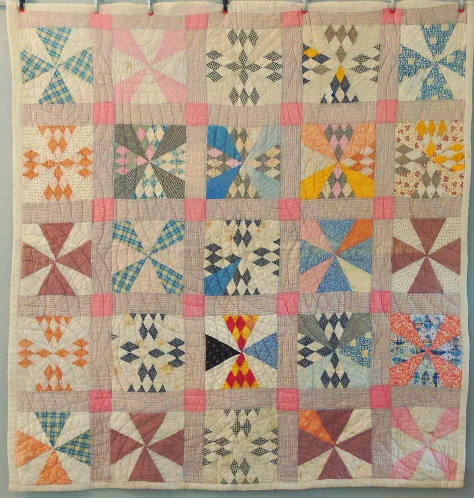 1920s Maltese Cross Quilt