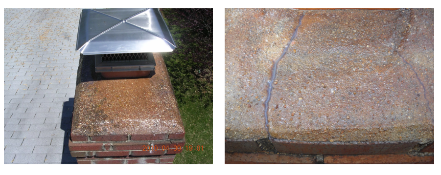 chimney crown repair product crownguard