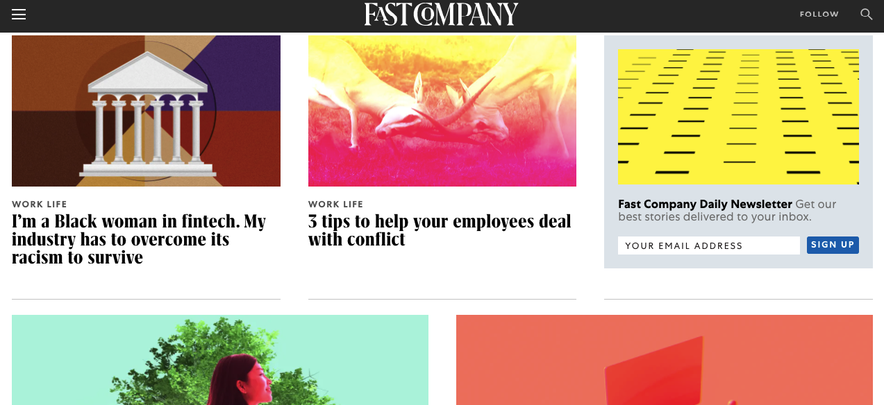 how to submit an article to fast company
