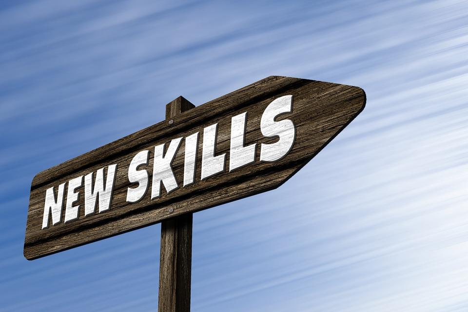 交通標識, ディレクトリ, スキル, ことができます, 才能, トレーニング, 教育, コンセプト