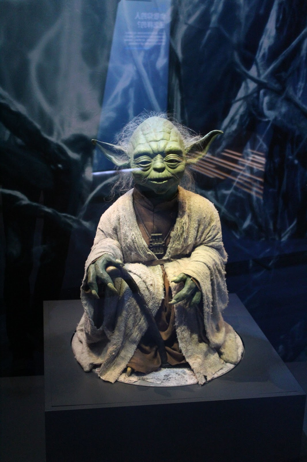 Muppet model of Yoda
