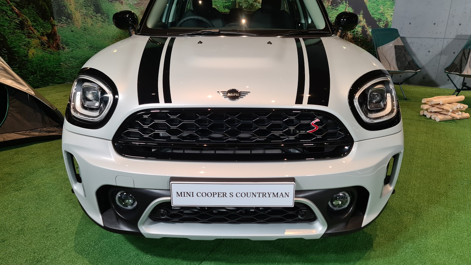 2021 MINI Cooper S Countryman Front View