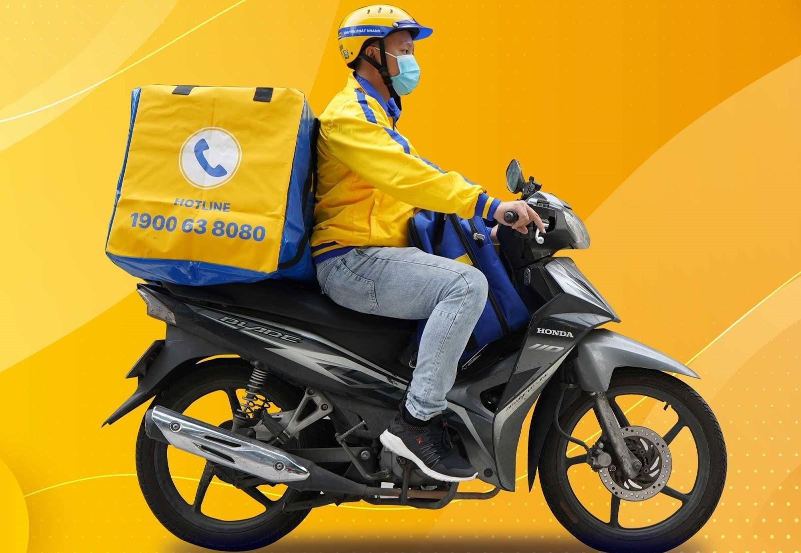 Chuyển phát tiêu chuẩn bằng xe máy cần đảm bảo tiêu chí gì?