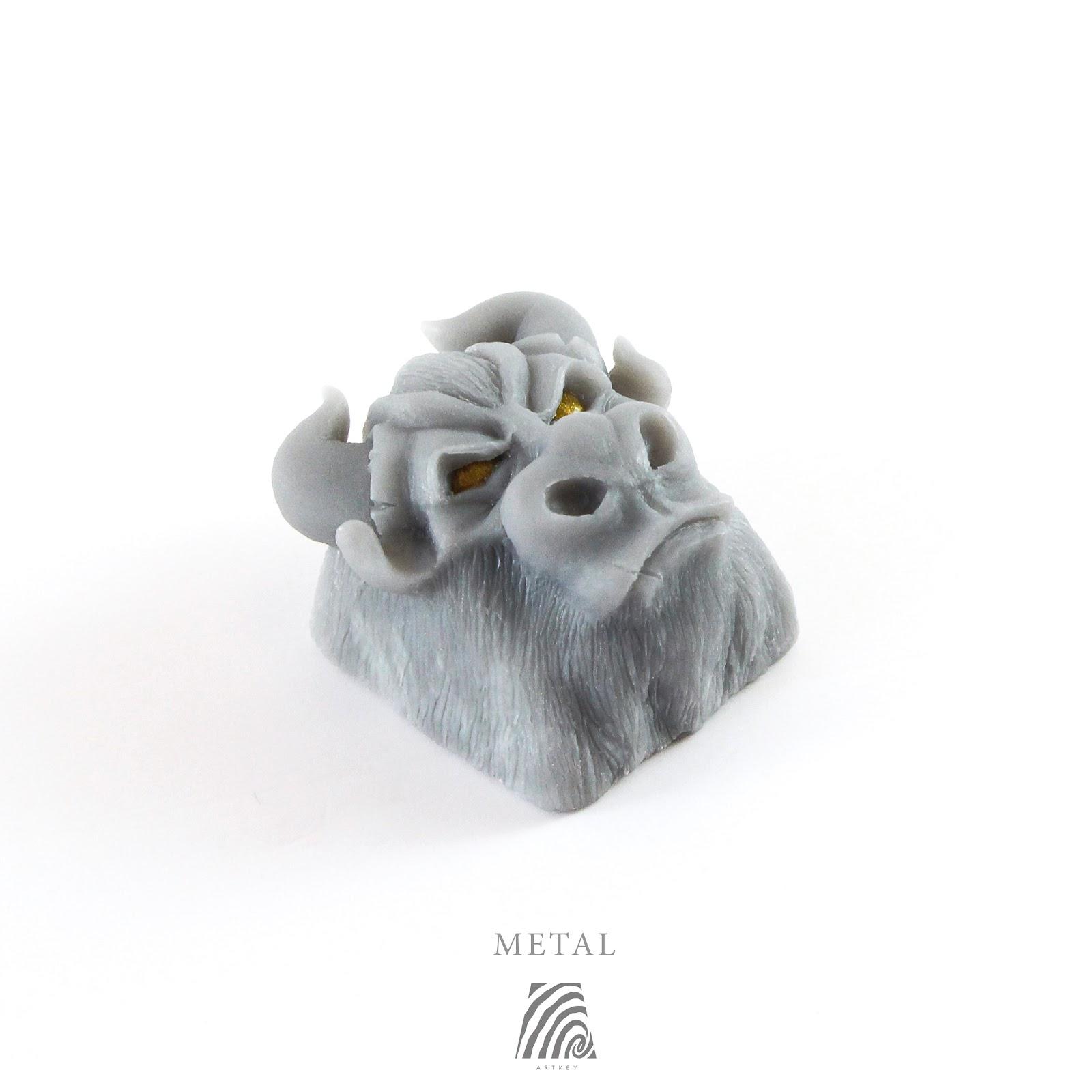 Artkey - Metal Bull