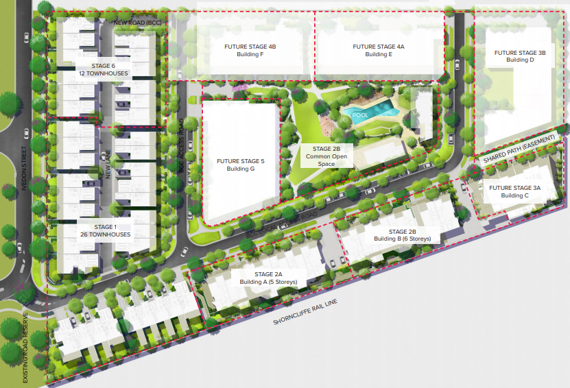 Multiple Dwellings Within Summerlin Banyo Development Proposed