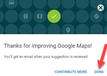 add missing location Google Maps