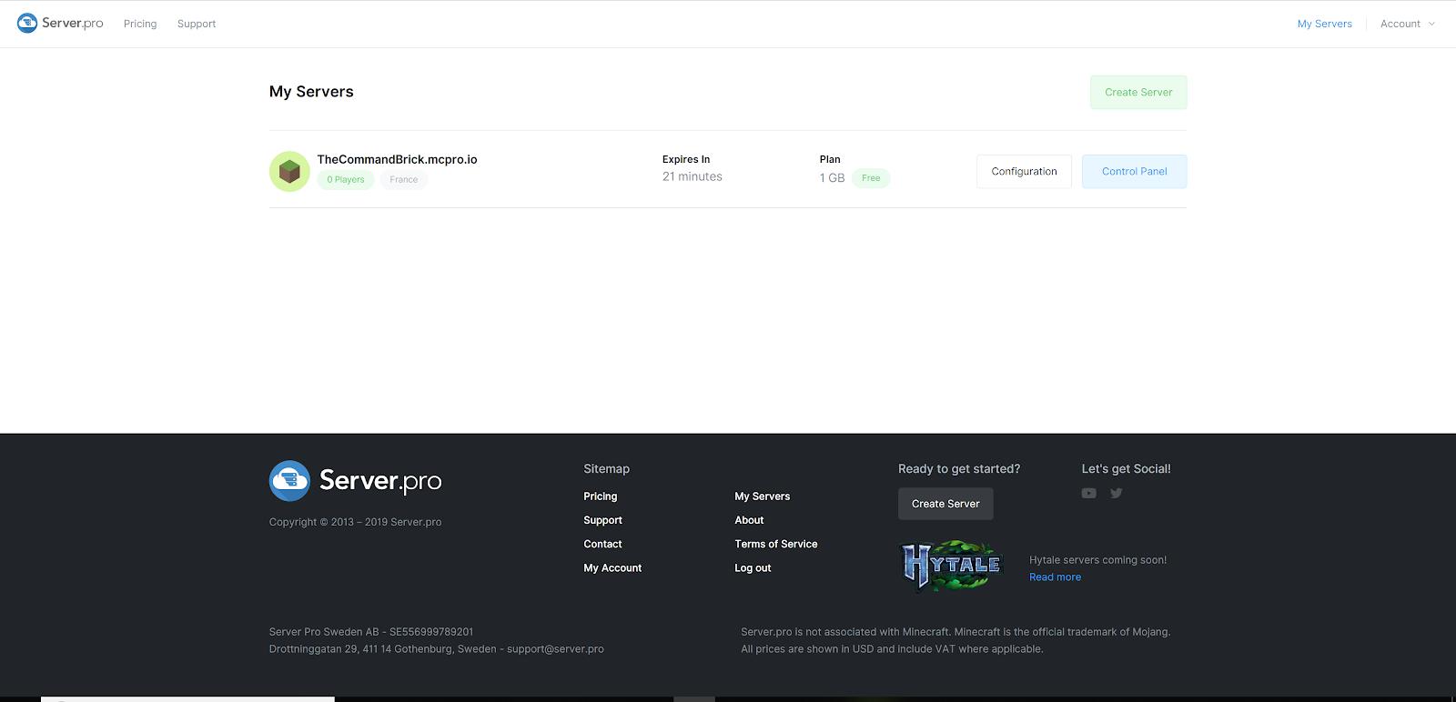 Control Panel: diventare Operatore per poter terminare il tutorial di Come Vedere L'Inventario Di Un Player In Minecraft