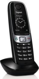 Gigaset - přídavné sluchátko vč. nabíječky, barva černá