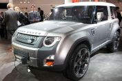 Land Rover Dc 100 Front Three Quarters View