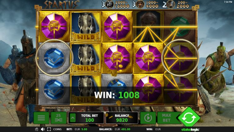 spartus slot machine stakelogic review