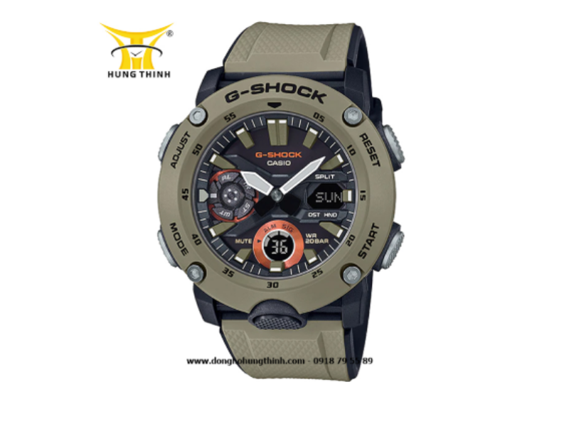 Chiếc CASIO G-SHOCK này tích hợp rất nhiều tính năng như bấm giờ, báo thức, sở hữu 31 múi giờ, đèn đồng hồ,... (Sở hữu ngay sản phẩm tại đây)