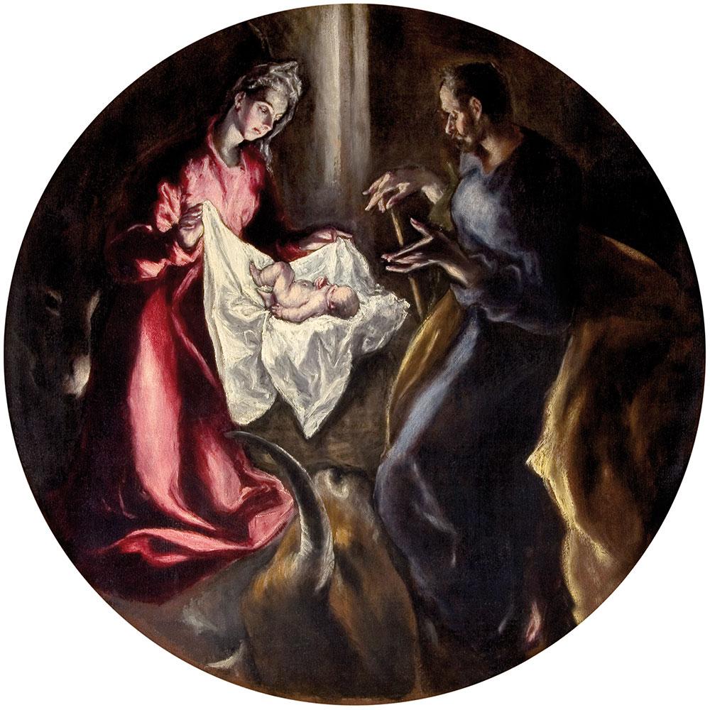 Η Γέννηση του Ιησού, Ελ Γκρεκο.jpg