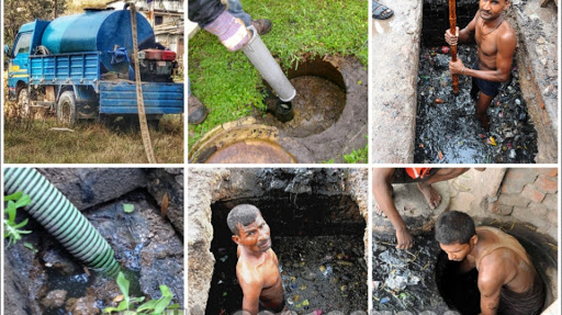 Drainage and septic tank cleaning service in Kathmandu Nepal