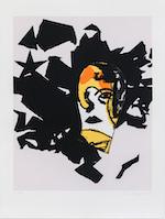 Zeefdruk op papier 78 x 58 cm (zonder lijst) Editie: 100 exemplaren + 20 A.P. € 1.230 € 1.405 (met lijst)