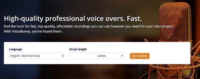 free voice over