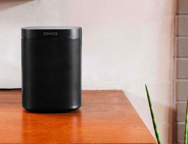 Sonos One on table top