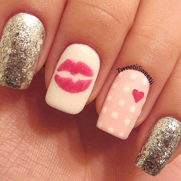 cute nail designs creem (2)