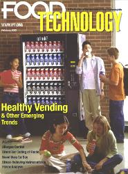 Cover of trade/professional journal example: Food Technology
