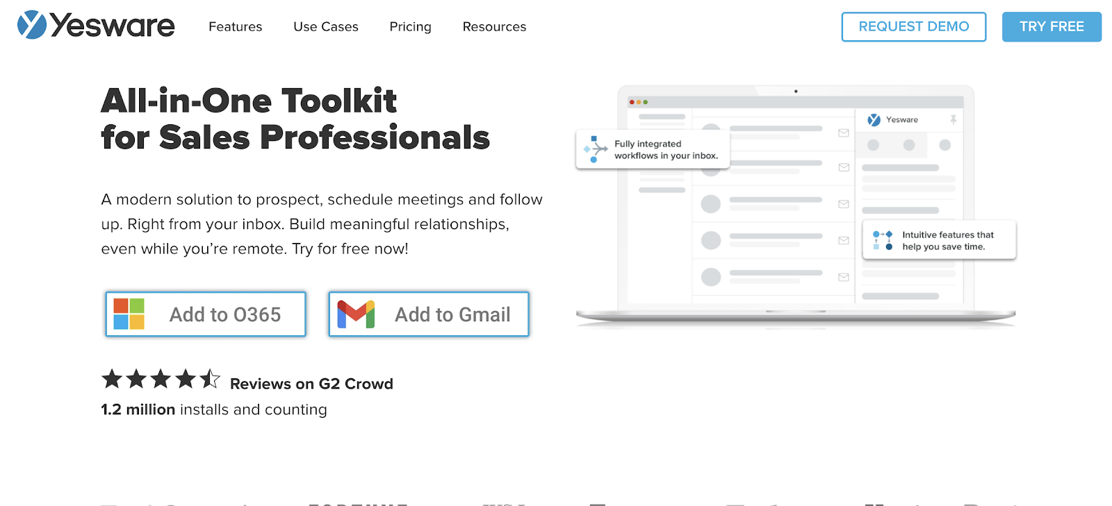 Yesware gmail crm tool