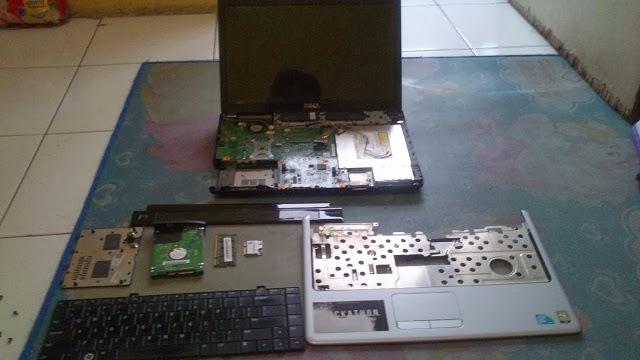 memperbaiki laptop dell inspiron 1440