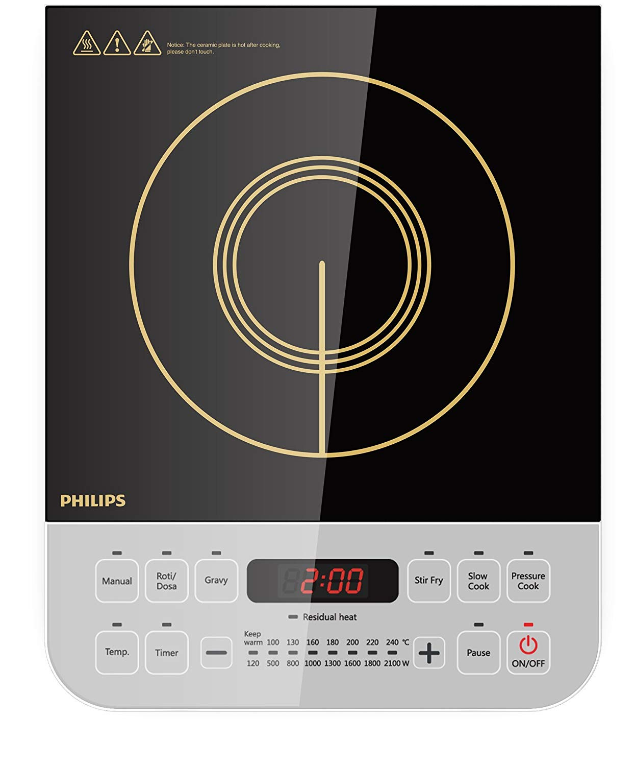 Philips Viva Collection HD4928 Induction Cooktop