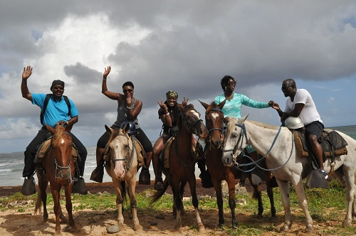 Horseback riding among beautiful scenery is sure to please everyone in your group.