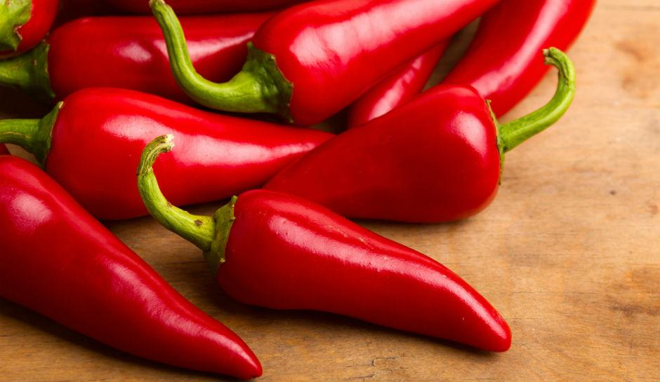 Chili peppers to boost your fitness