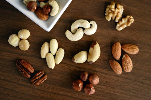 mixed nuts for spinal health