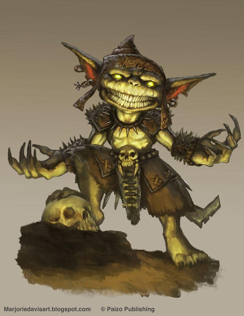Mysterious Goblin by MarjorieDavis