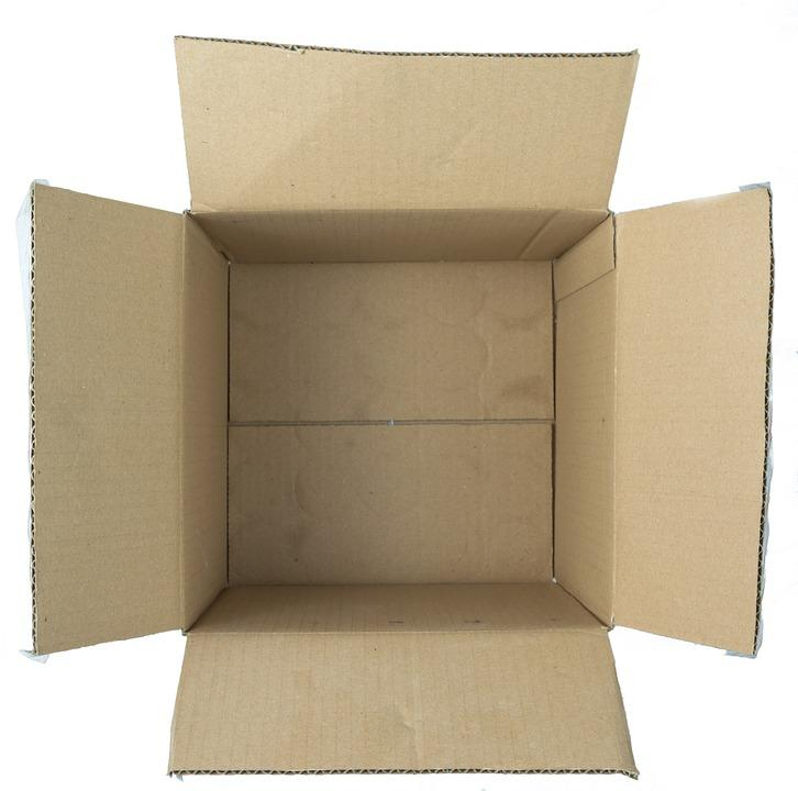 Box, Open, Top, Package, Packaging, Empty, Cardboard
