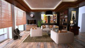 Nicely arranged living room to illustrate how converting your garage to a living space can be done
