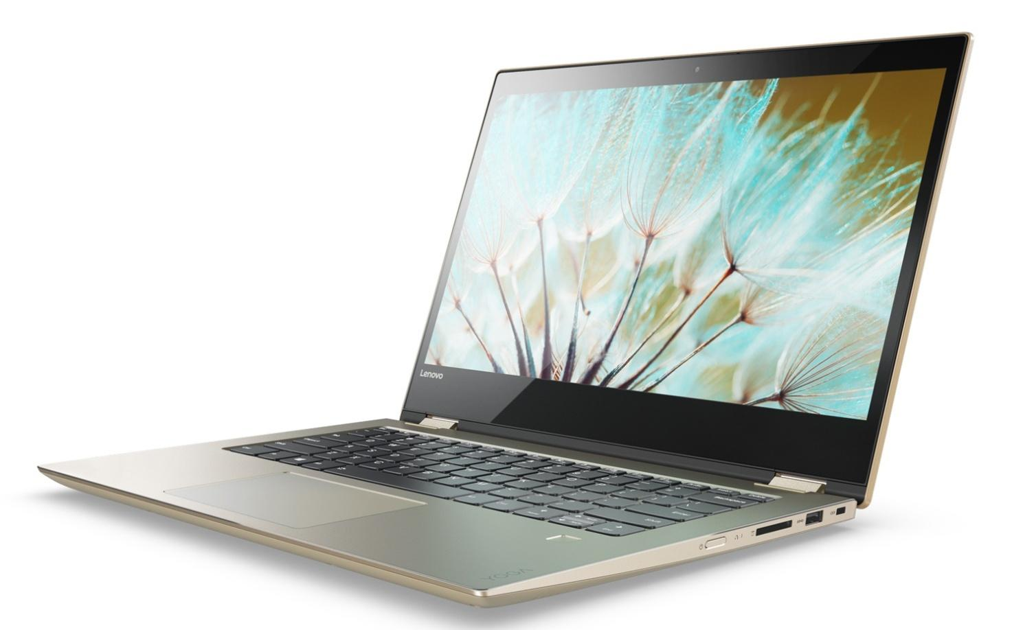 Фото 1 - Ультрабук Lenovo YOGA 520 Gold Metallic (81C800DBRA)