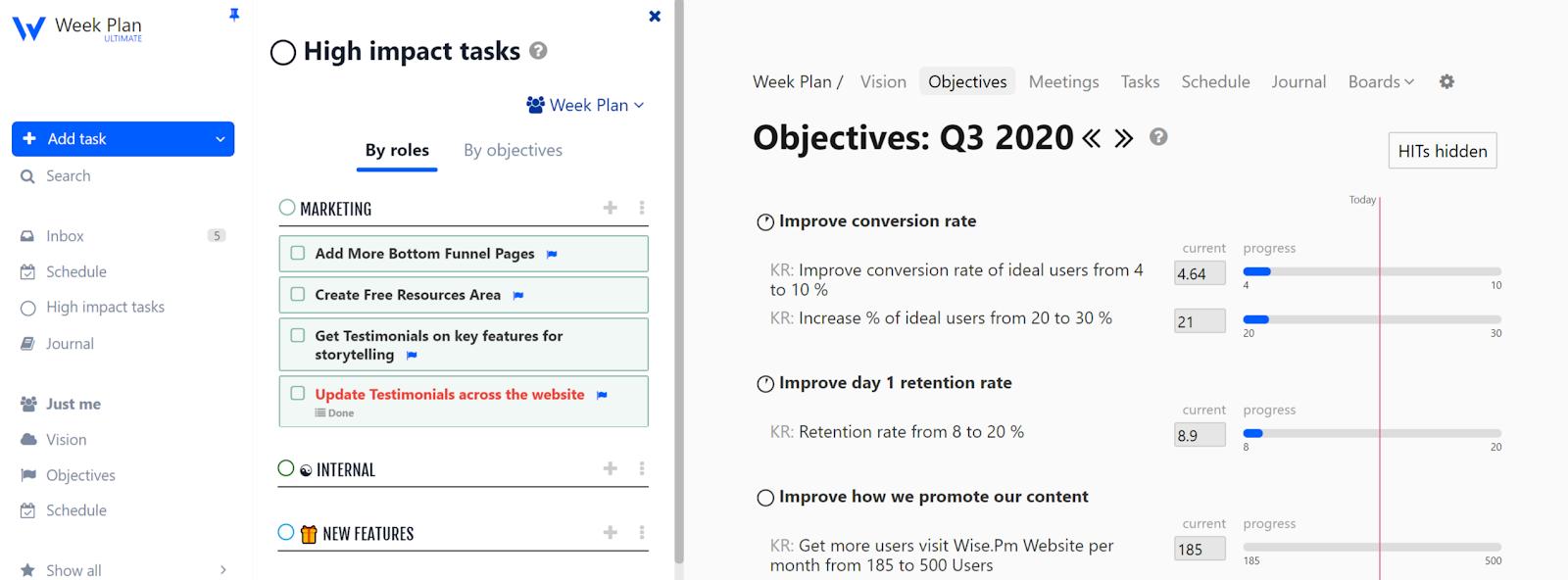 Work-Planner-High-Impact-Tasks