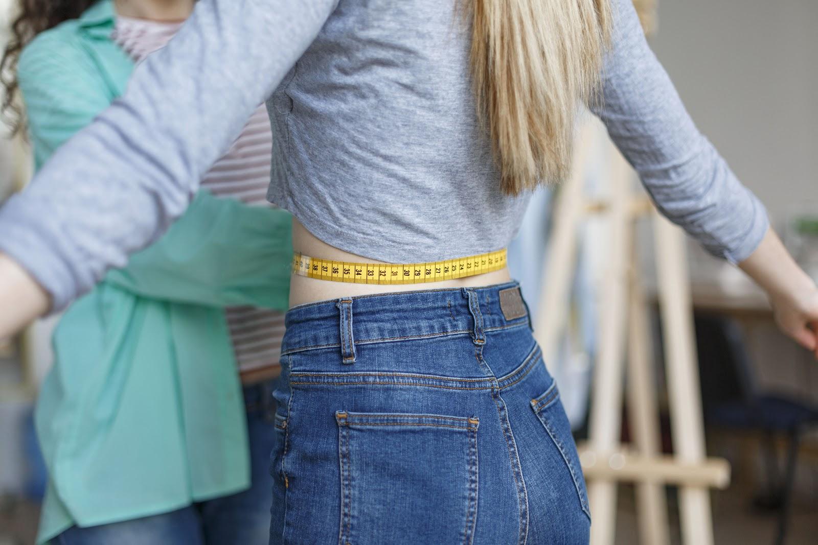 jeans pasvorm maat