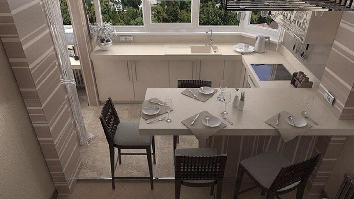 сохранения кухня на балконе или лоджии фото дизайн долго упорно
