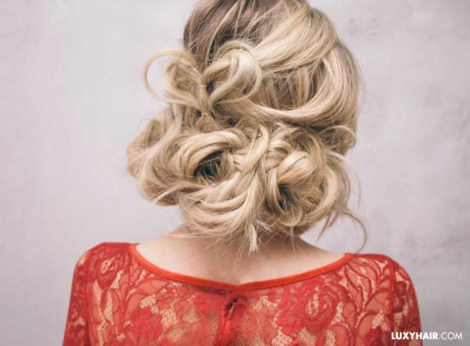 heart-stopping romantic up-do with hearts