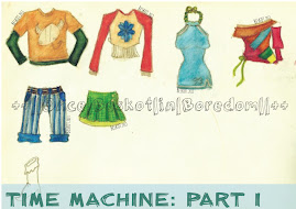 TIME MACHINE: Part I: Childhood Sketching