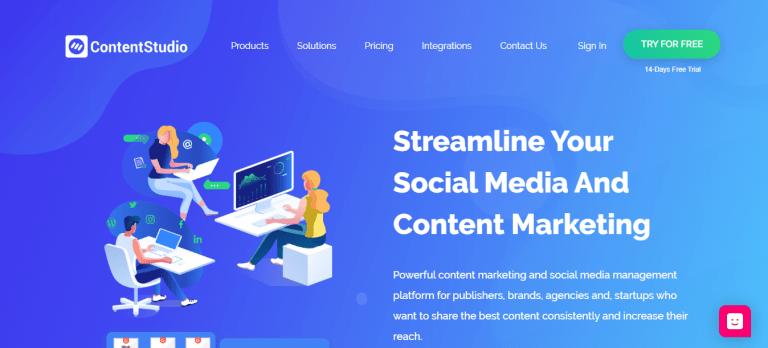 cs social media marketing tool