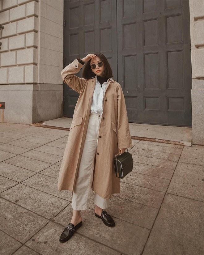 Muốn mặc đẹp mà chẳng cần nghĩ nhiều, bạn cứ diện áo trench coat với 4 công thức xuất sắc miễn bàn này - Ảnh 3.