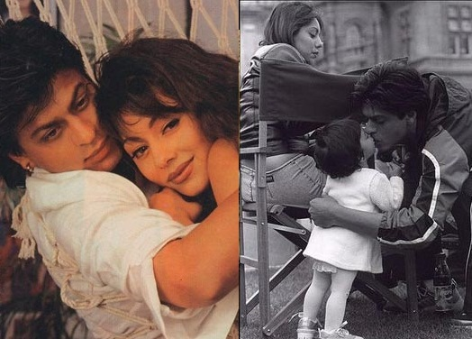 Uncommon & Unseen Photos Of Shah Rukh Khan & Gauri Khan1