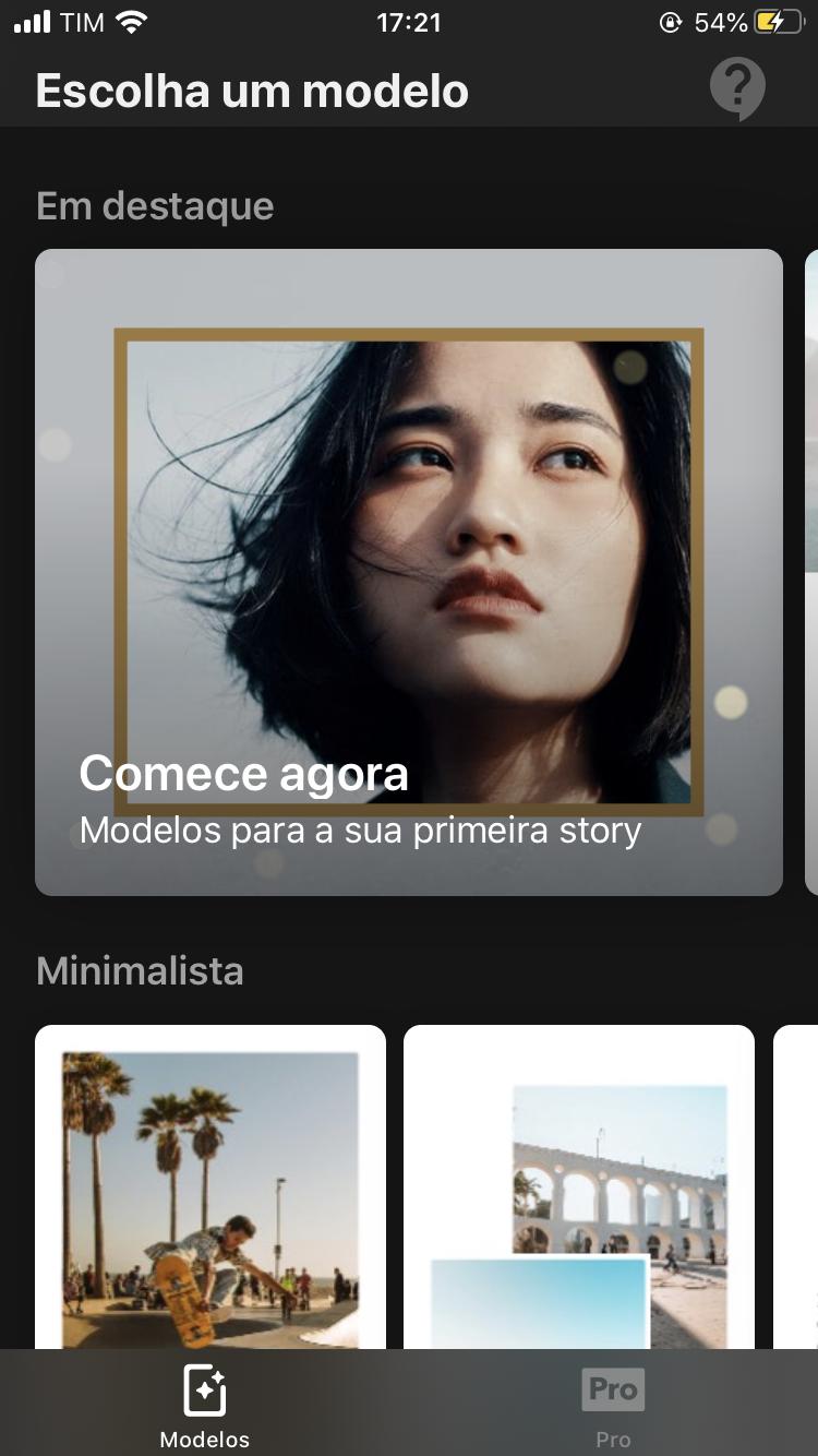 Mojo - Editor de Stories do Instagram iOS - Imagem 4 do software