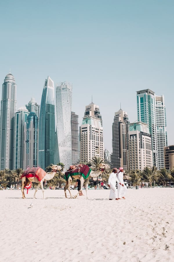 Dubai - Visas for digital nomads