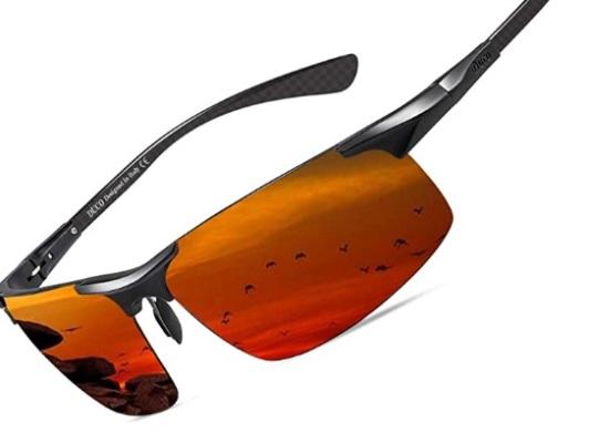 DUCO Men's Sports Polarized Driving Glasses